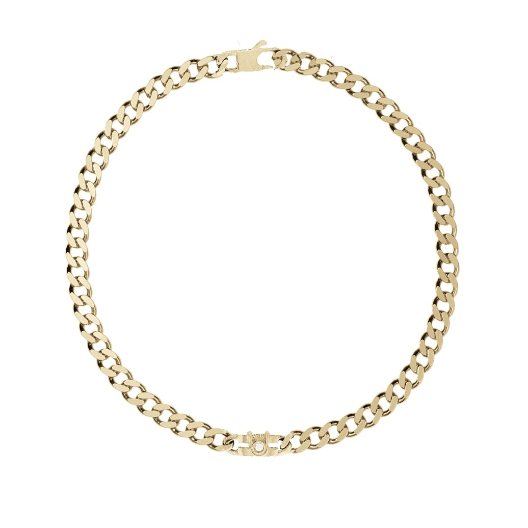 ELVIE CHAIN NECK