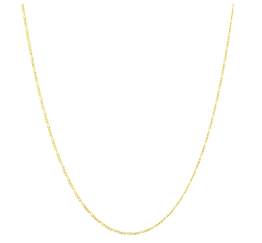 Figaro Link Gold Chain