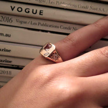 Load image into Gallery viewer, BB (BOSS BABE) SIGNET RING x YES QUEEN