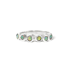 Load image into Gallery viewer, Stacker~ Opal Dot Ring