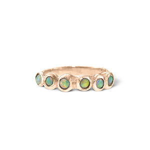 Stacker~ Opal Dot Ring
