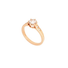 Load image into Gallery viewer, ERIDANI SOLITAIRE RING  - MORGANITE