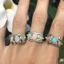 Load image into Gallery viewer, Opal Trio Ring