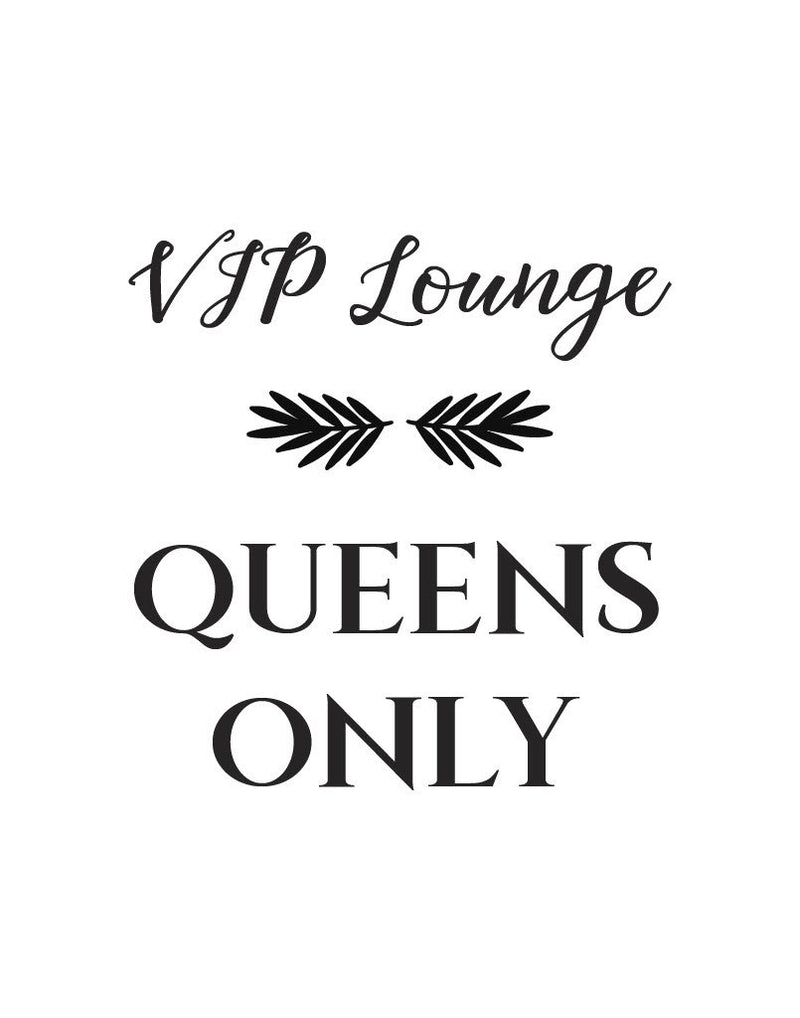Vip lounge queens only