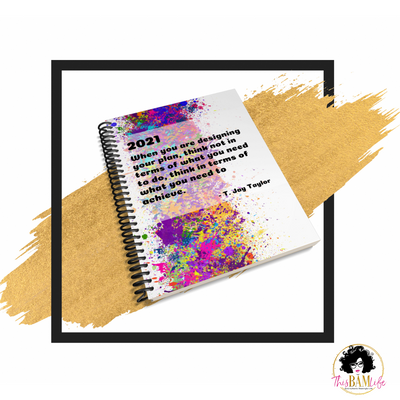 Undated Freedom Planner - Rainbow