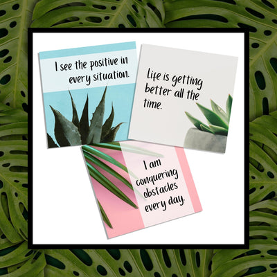 Affirmation Cards (Positive Thinking) - This BAM Life