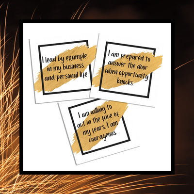 Affirmation Cards (Success) - This BAM Life