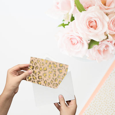 Blank Notecards (Gold Patterns) - This BAM Life