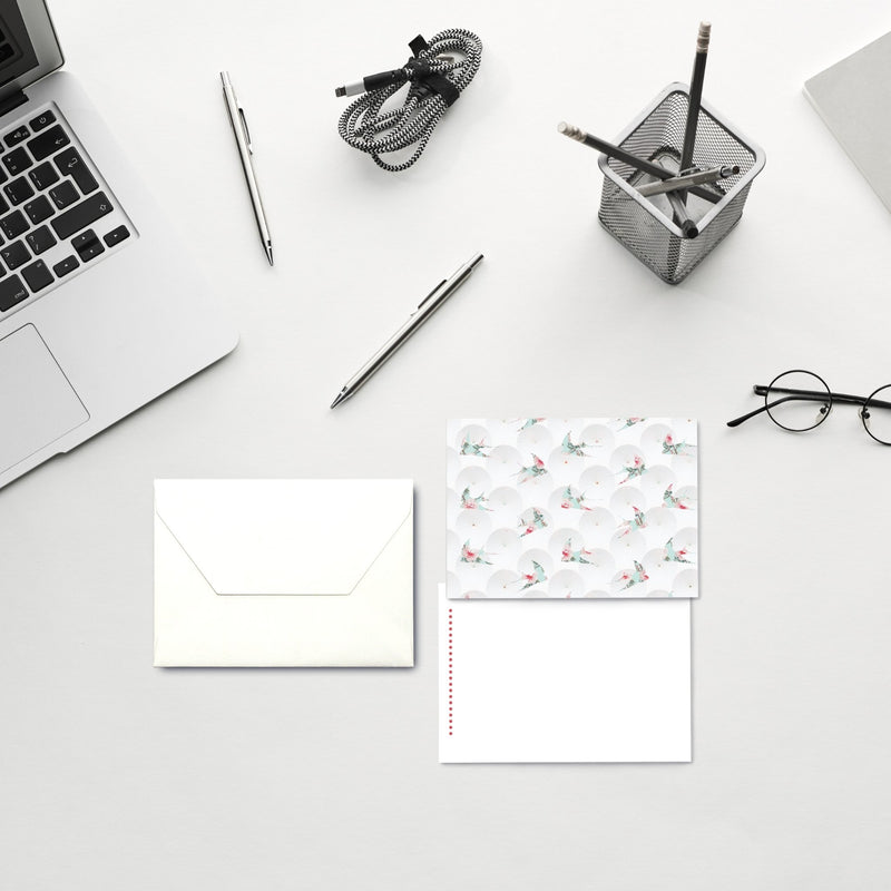 Blank Notecards (Paper Umbrellas) - This BAM Life