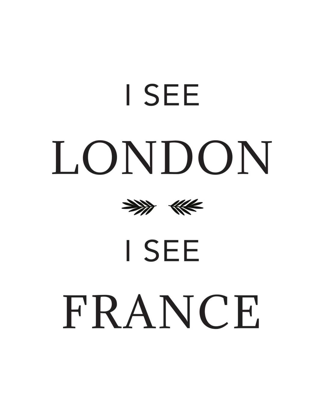 I see london i see... - This BAM Life