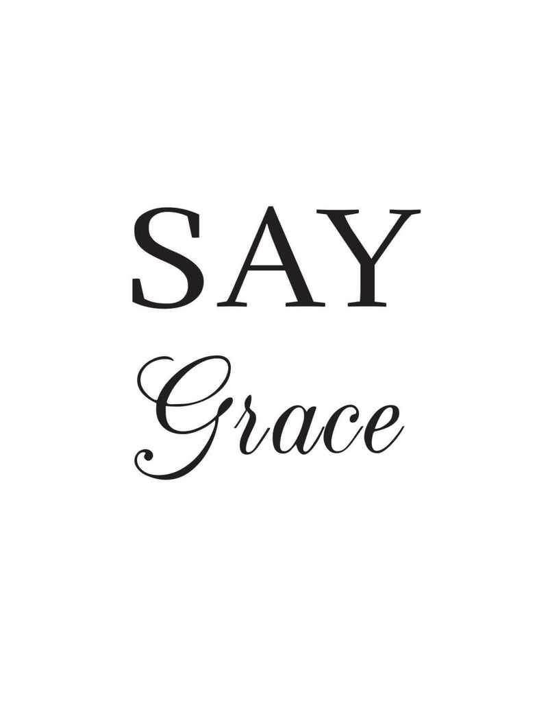 Say Grace - This BAM Life
