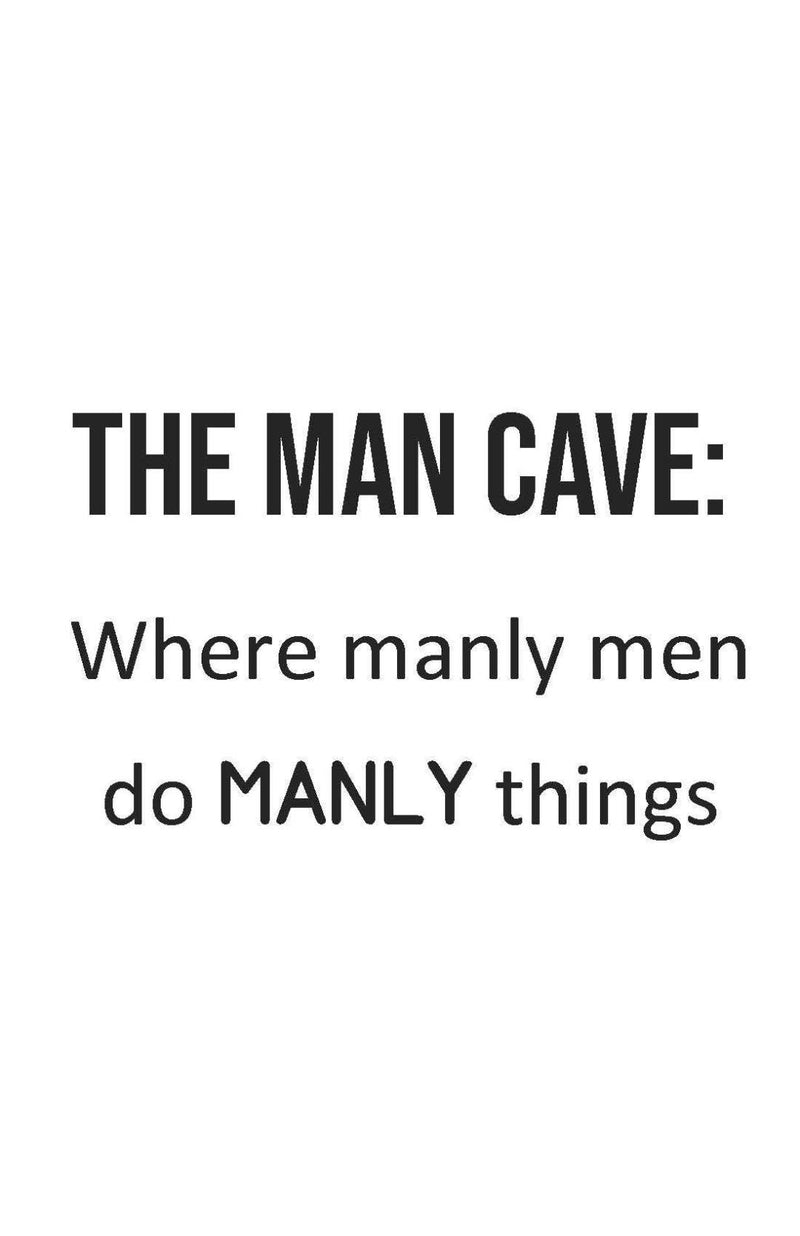 The man cave where the manly men ... - This BAM Life