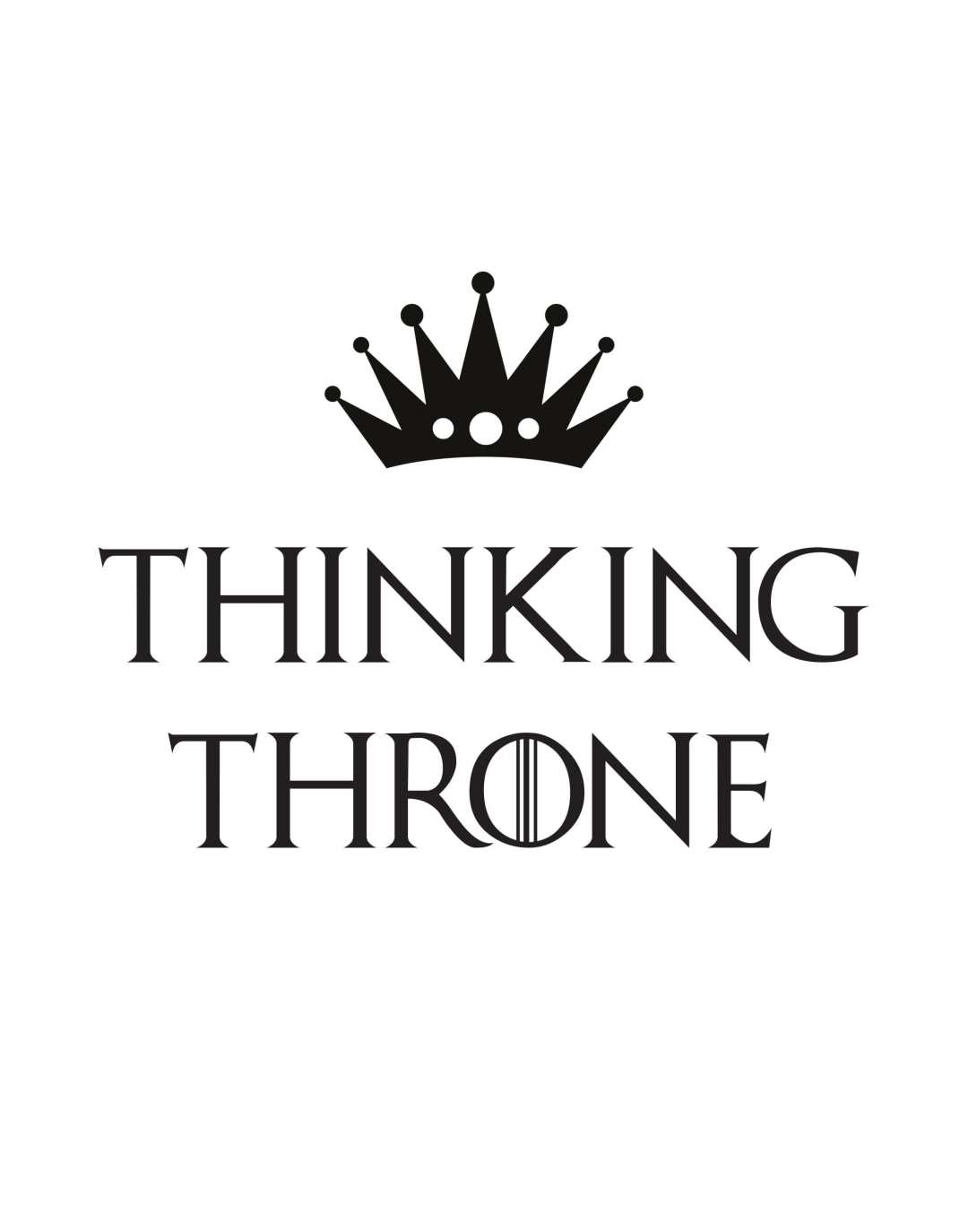 Thinking throne - This BAM Life