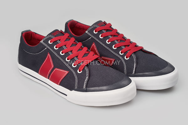 ELIOT MIDNIGHT BLUE/RED (VEGAN)