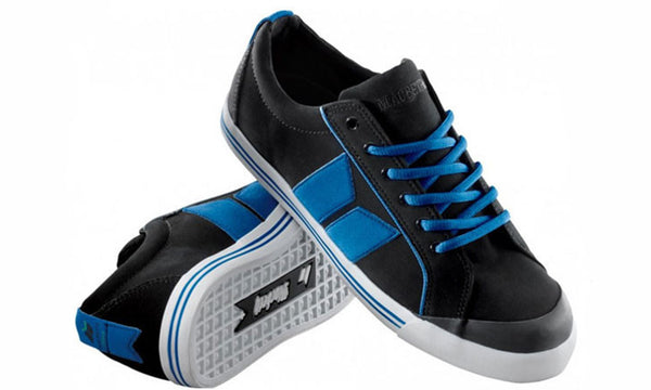 ELIOT PREMIUM BLACK/RETRO BLUE (VEGAN)
