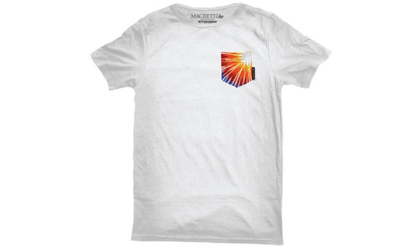 HENDRIX POCKET TEE WHITE