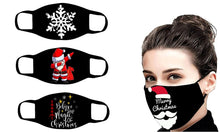 Load image into Gallery viewer, Mixed Christmas Reusable 3-layer Cotton Masks