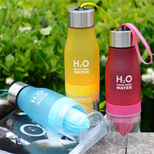 Load image into Gallery viewer, H20 Detox Water Bottle - Green Network Store UK