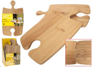 Bamboo Jigsaw Puzzle Board - Green Network Store UK