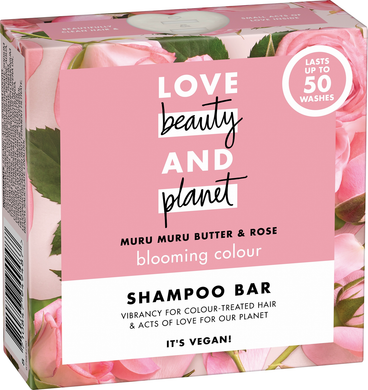 Love, Beauty and Planet - Shampoo Bar - Green Network Store UK