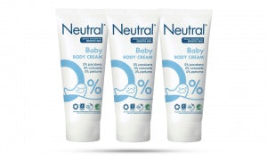 Neutral Baby Creams for Sensitive Skin - 100ml (Pack of 3)