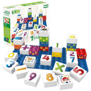 Biobuddi - Numbers Learning Building Blocks  - Green Network Store