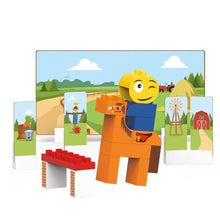 Load image into Gallery viewer, Baseball, Hiking, Riding Playsets & T-Rex Building Blocks