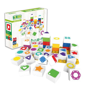 Shapes Learning Building Blocks