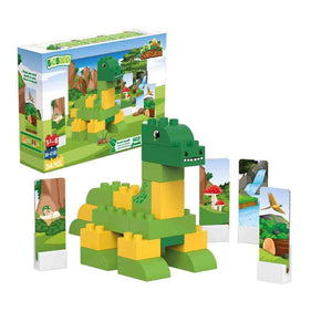 Biobuddi - Brontosaurus Building Blocks - Green Network Store UK