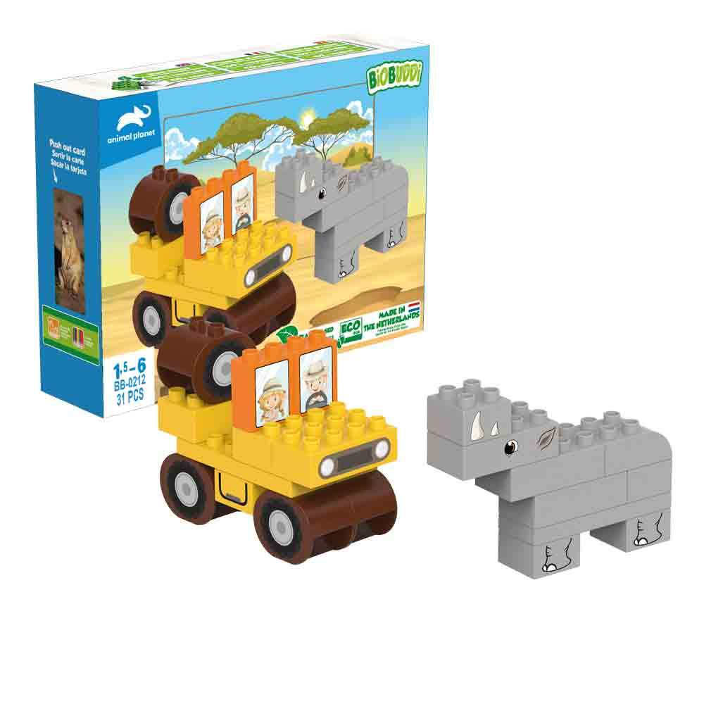 Biobuddi - Jeep Playset - Green Network Store UK