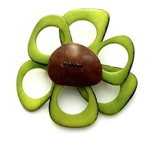 Load image into Gallery viewer, Flower Brooch