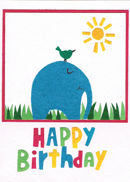 Birthday Card - Big and Small Wishes