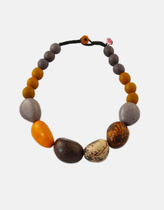 Sofia Tagua Nut Chunky Necklace