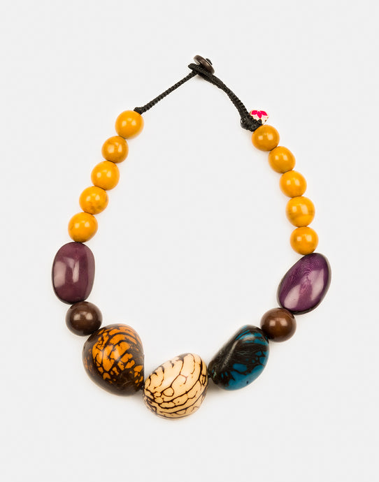 Stella Tagua Nut Chunky Necklace
