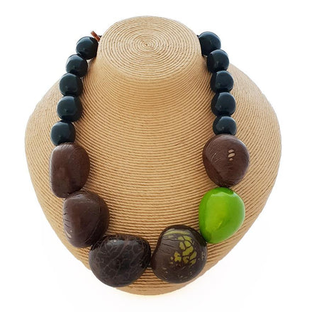 Recife Tagua Nut Chunky Necklace