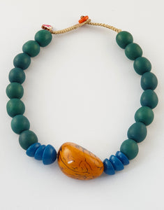 Chunky Tampa Tagua Nut Necklace