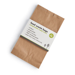 Compostable Food Waste Paper Bags (Pack of 25)