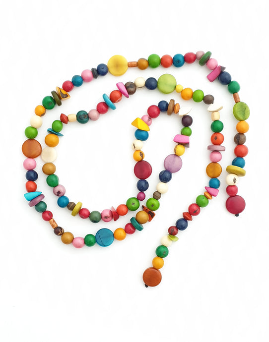 Cobra Eco-Necklace Multicoloured