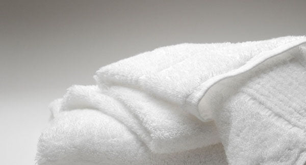Luxury Organic Cotton Towels 460gsm (White)