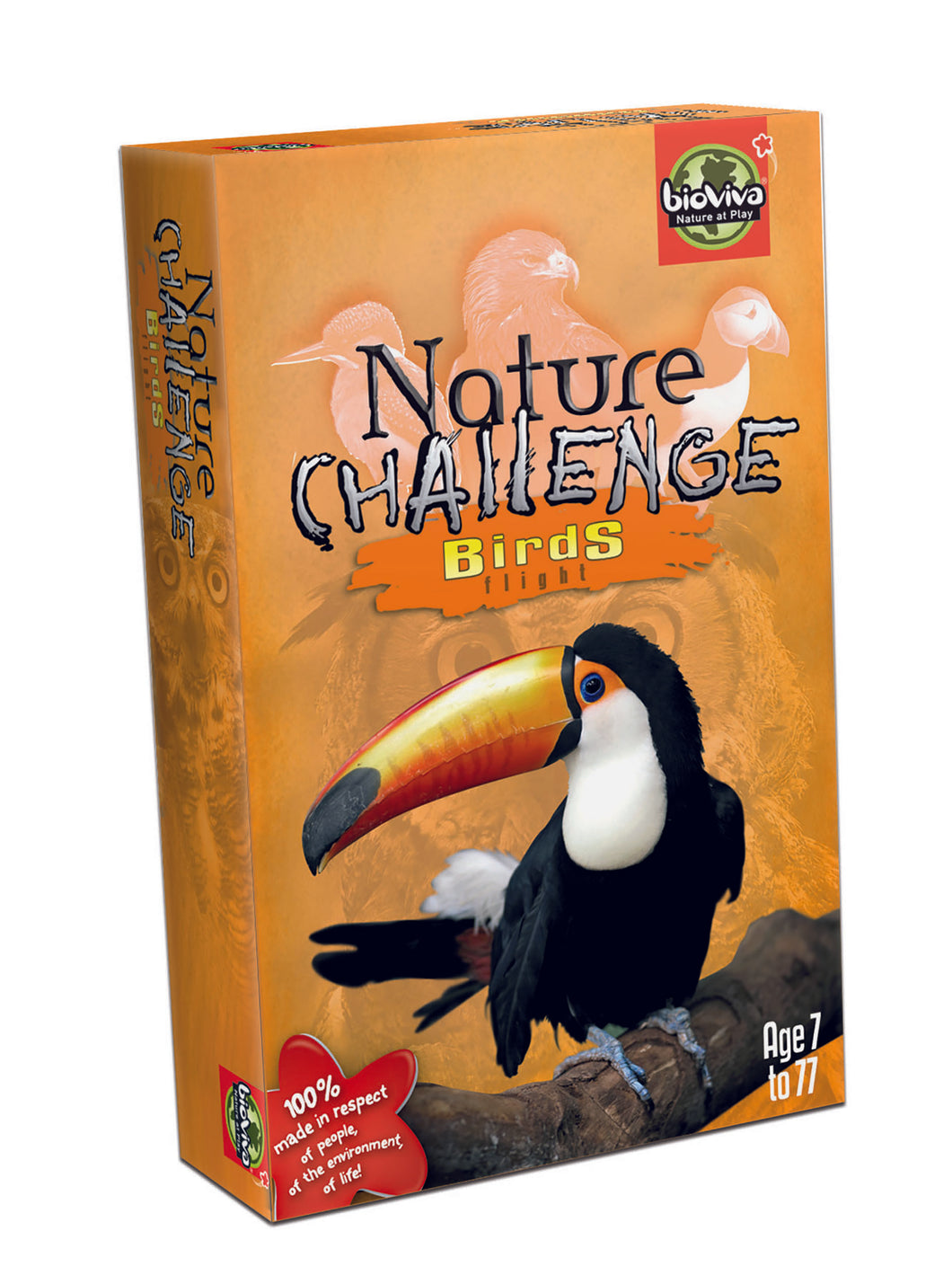 Nature Challenge Birds - Card Game