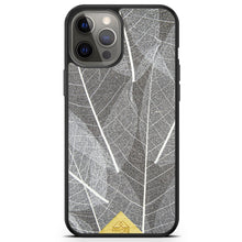 Load image into Gallery viewer, Organic Phone Case - Skeleton Leaves