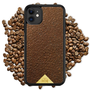 Organic Phone Case - Coffee