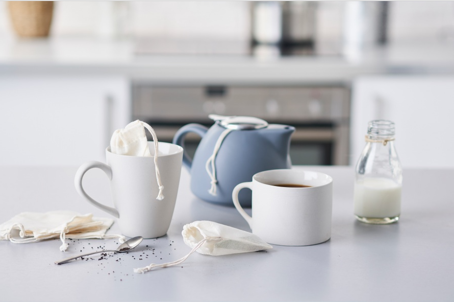 Eco Living - Reusable Organic Tea Bags - Green Network Store UK