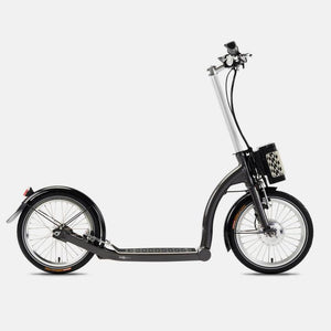 SwiftyZERO fixed frame (non folding) 2021 Electric inc mudguards & lights
