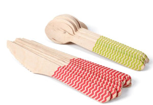 Eco-friendly Disposable Wooden Cutlery - Green Network Store UK