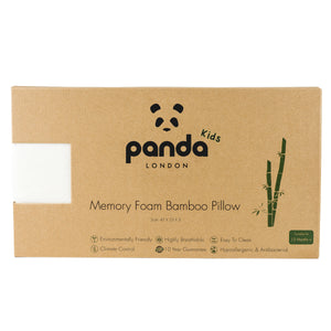 Panda Kids Luxury Memory Foam Bamboo Pillow (Toddler)