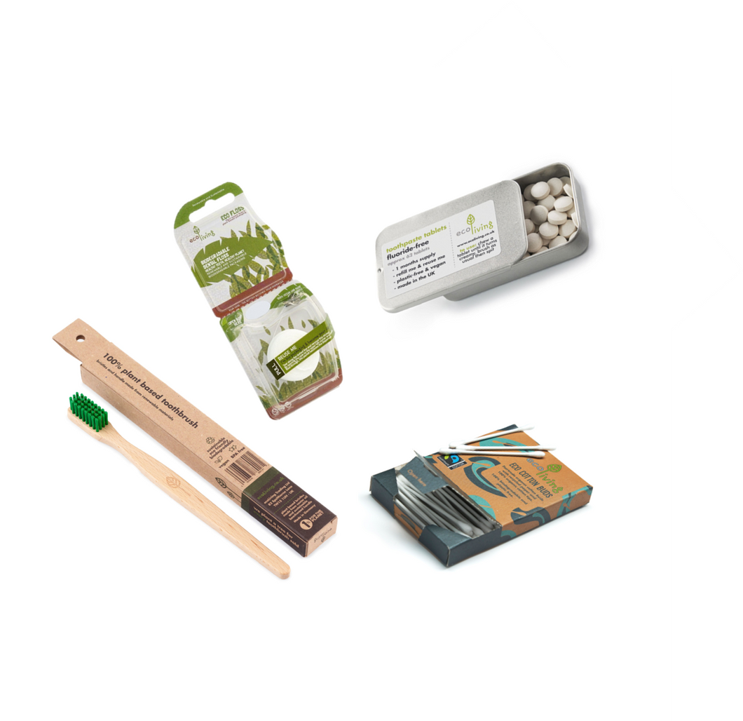 Eco Living - Sustainable Bathroom Set - Green Network Store UK