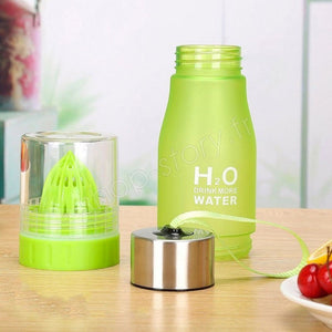 H2O Detox Bottle With Fruit Infuser