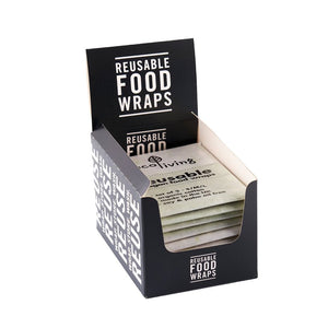 Reusable Vegan Food Wraps (Pack of 3)
