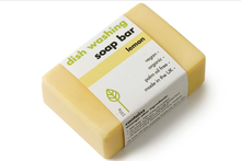 Load image into Gallery viewer, Eco Living - Washing-Up Soap Bar - Lemon - Green NetworkStore UK